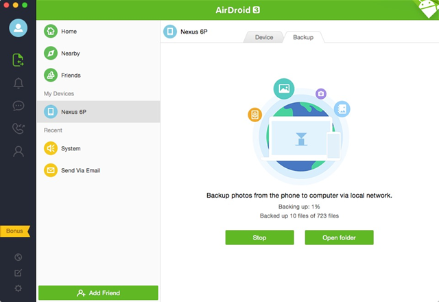 AirDroid Adds Automatic Local Network Photo Backup To Its Bag Of Tricks