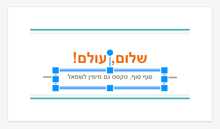 [APK Download] Google Slides Supports RTL Languages, Google Docs Gets Text Selection In The Print Layout View