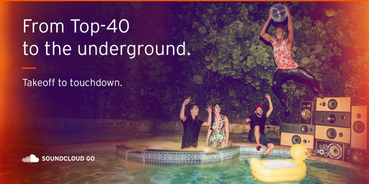 SoundCloud Go Is A $9.99 Monthly Subscription To Access Millions Of New Tracks From Major And Indie Labels — US Only For Now, Expanding In 2016
