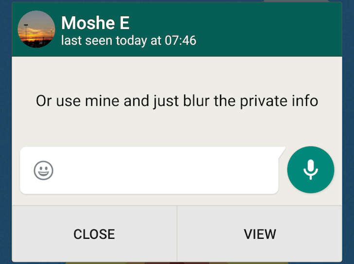[Update: Strikethrough Text] WhatsApp Adds Quick Reply From The Notification, Multiple Contact Selection, Solid Wallpaper Colors, And Finally Dumps A Gingerbread Remnant