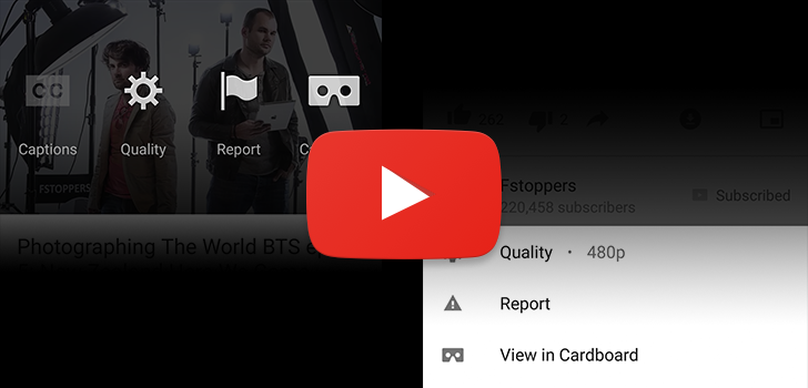 YouTube's Card-Style Menu For Video Options Is Progressively Rolling Out To More People And Disappearing For Others