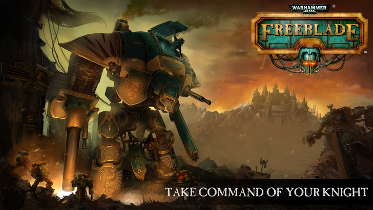 Warhammer 40k: Freeblade Drops Into The Play Store With A 30-Foot War Machine Ready To Do Some Damage