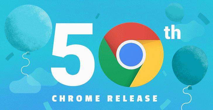 Google Celebrates Chrome 50 Release, Boasts 1 Billion Active Users, Unveils Material Design On Chrome OS