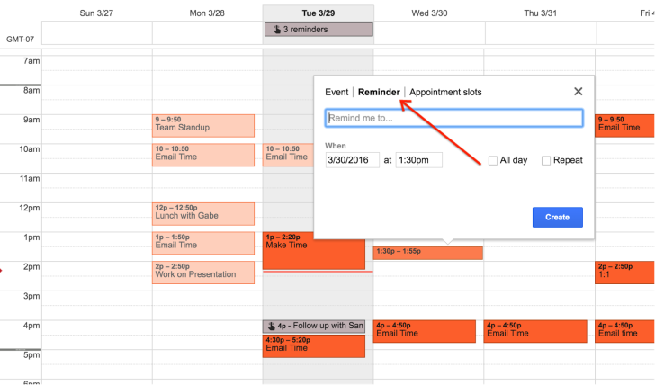 Google Finally Launching Reminders For Calendar On The Web