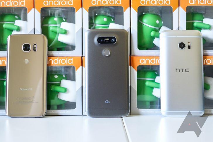 [Weekend Poll] Galaxy S7, LG G5, Or HTC 10?