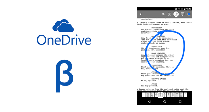 OneDrive Beta Adds PDF Annotation And Notifications For All
