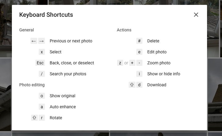 Google Photos Web Update Brings Uploading Improvements And Keyboard Shortcuts