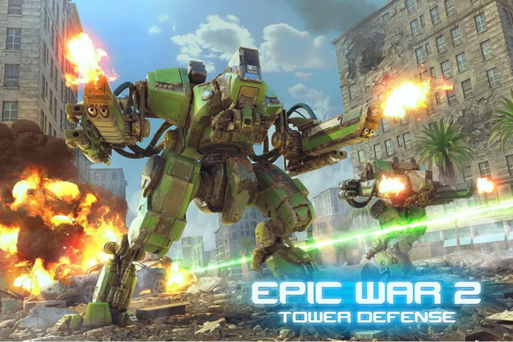 [Deal Alert] Epic War Tower Defense 2 Is A 4.3 Star Game With Excellent Graphics And No IAPs, Today You Can Buy It For $0.10