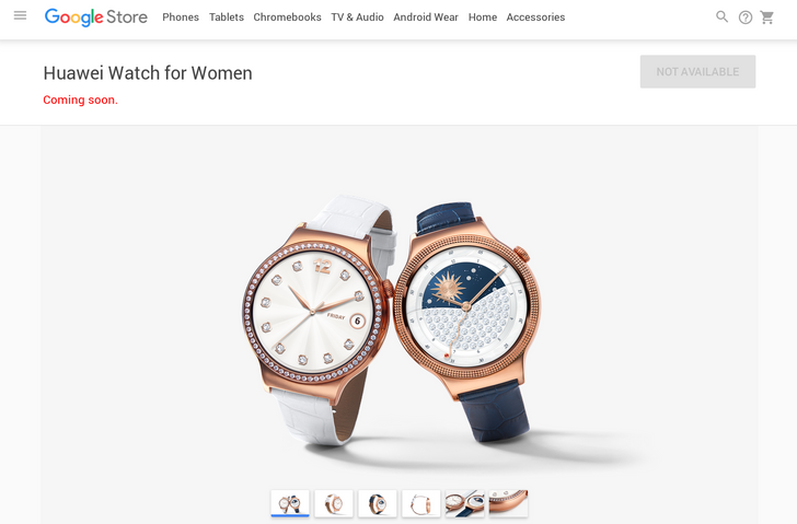 Huawei Watch For Women Pops Up On The Google Store, Listed As Coming Soon