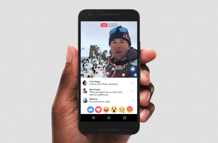 Facebook Introduces New Ways To Find, Share, And Interact With Live Video