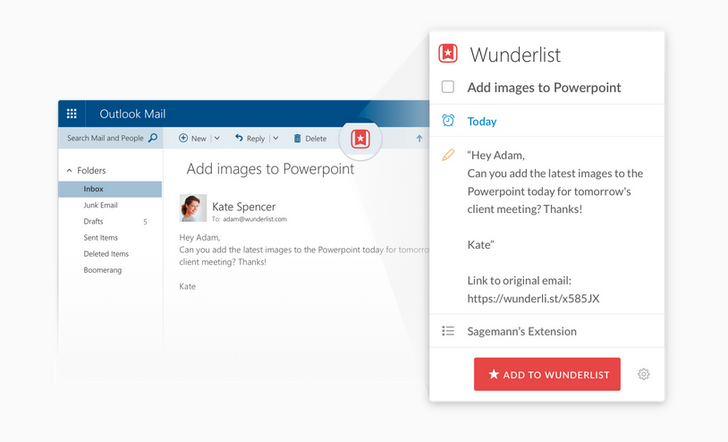 Evernote, Facebook, And Wunderlist Now Appear On Your Microsoft Outlook Calendar