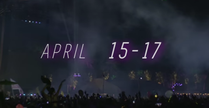 [Update: Streaming Now] The Coachella Music Festival Is Streaming For Free This Weekend Exclusively On YouTube