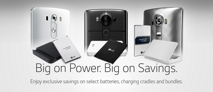 [Deal Alert] LG Is Selling Batteries And Cradles For The LG V10, G4, G3, And Lucid 2 Priced As Low As $10 Each