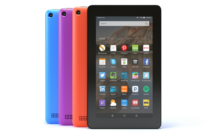 Amazon Introduces More Colors And A 16GB Storage Option For The 7-Inch Fire Tablet