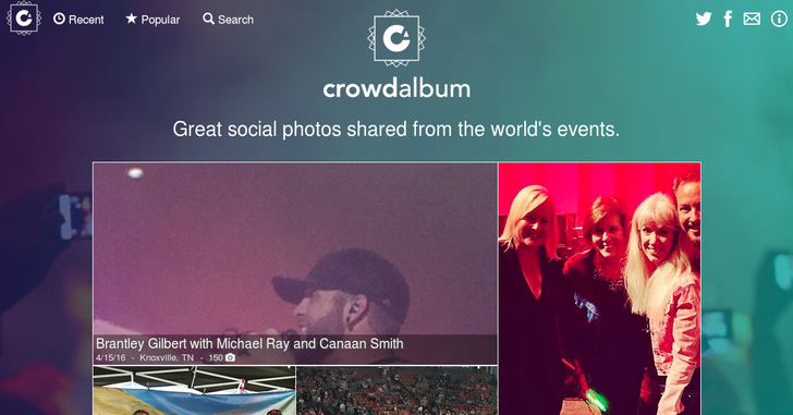 Spotify Buys Concert Photo And Video Aggregator 'CrowdAlbum'