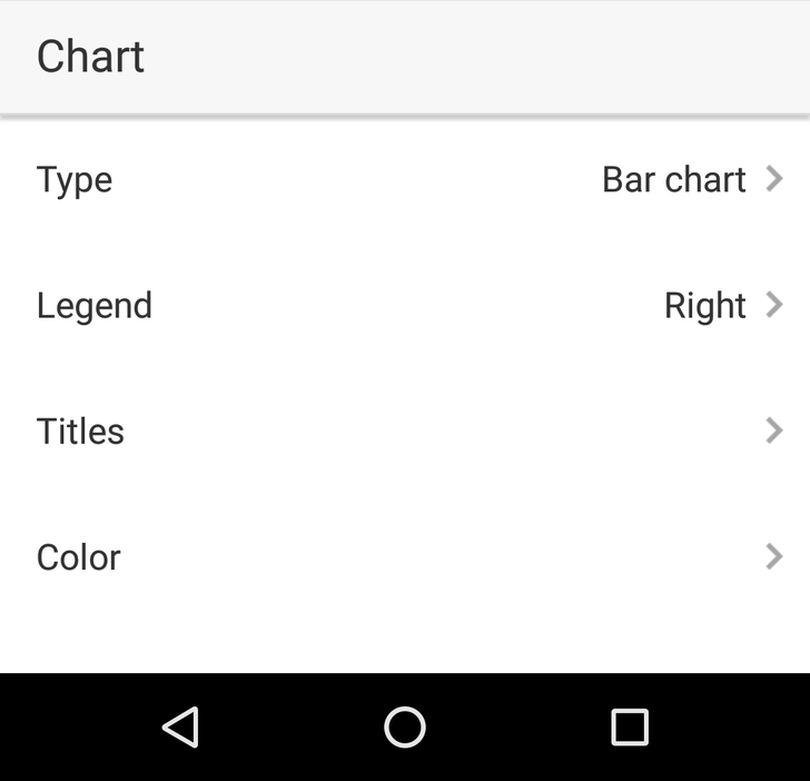 Google Sheets Update Provides More Ways To Tweak Charts From An Android Device [APK Download]