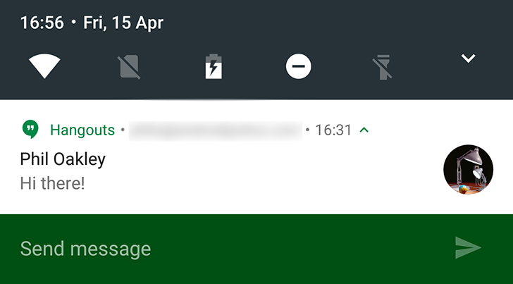 Android N Dev Preview 2 Expands Quick Reply To The Lockscreen