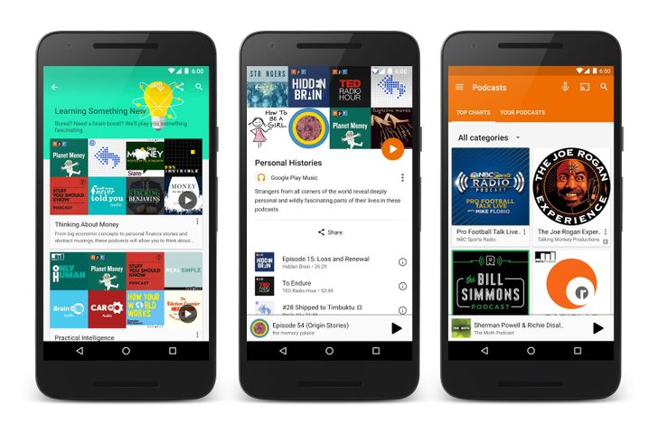 [Update: APK Download] Podcasts Finally Come To Play Music, But Only In The US And Canada For Now