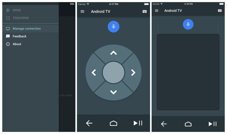 Google Releases An Android TV Remote App For iOS