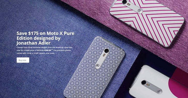 [Deal Alert] Save $175 On Limited Edition Jonathan Adler Moto X Pure, Now $299.99