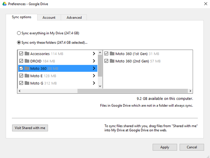 Google Drive Can Now Selectively Sync Subfolders On Windows And Mac