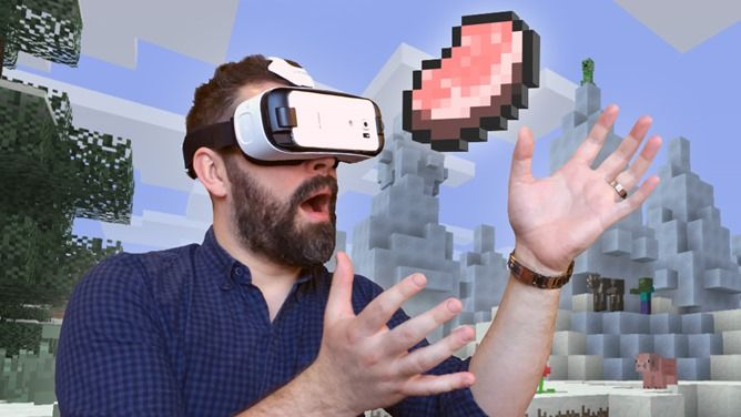 Minecraft: Gear VR Edition Now Available For Samsung S6, S7, And Note 5 Series Phones