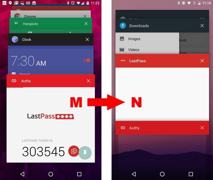 Android N Dev Preview 2 Patches Bug In Secure App Flag That Revealed Important Data In Recent Apps List