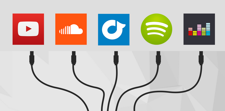 Qus Lets You Stream Music From SoundCloud, YouTube, Spotify, And More In The Same App Plus Listen With Your Friends In Real Time