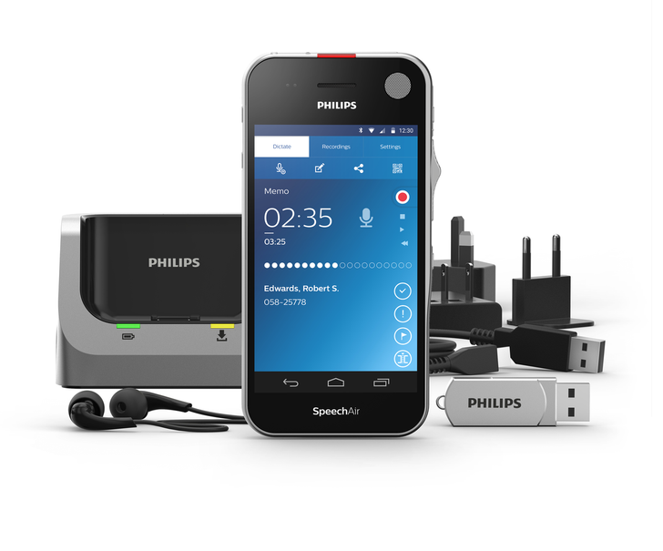 Philips Launches SpeechAir, A New Android-Powered Digital Voice Recorder