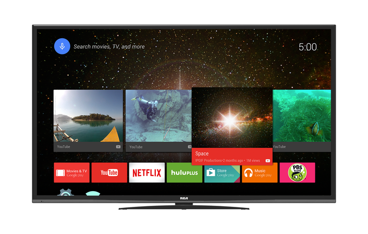 RCA Announces New 4K TVs With Android TV Built-In, Priced As Low As $499