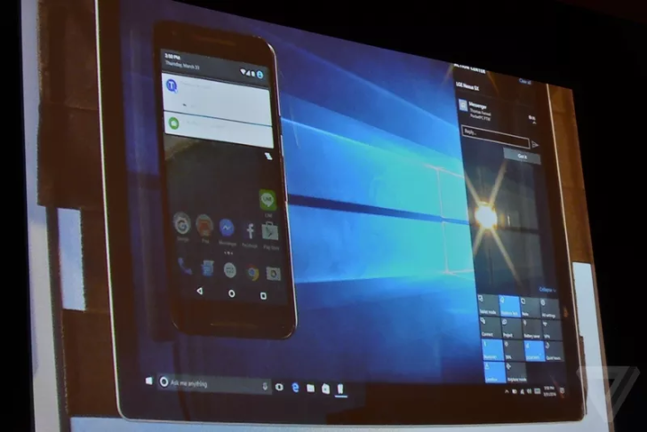 Windows 10 Will Soon Allow You To Mirror And Control Android Notifications [Update]