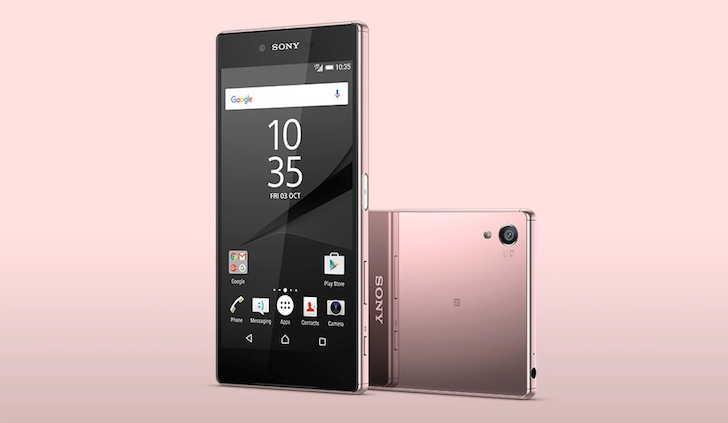 [Pretty In Pink] Sony's Xperia Z5 Premium Now Available In Pink Too