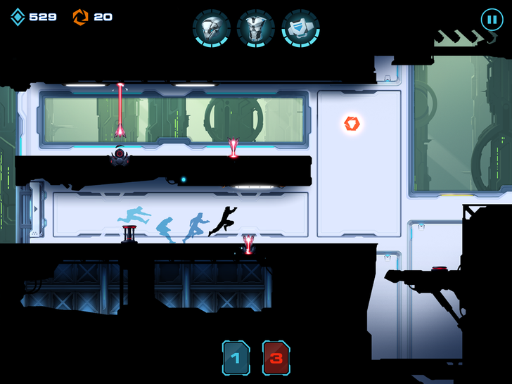 Stylish Side-Scrolling Runner Vector 2 Leaps Into The Play Store
