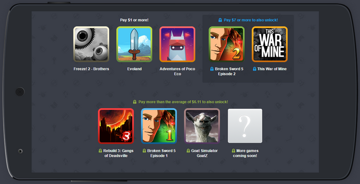Humble Mobile Bundle 18 Includes Evoland, This War Of Mine, Goat Simulator GoatZ, And More