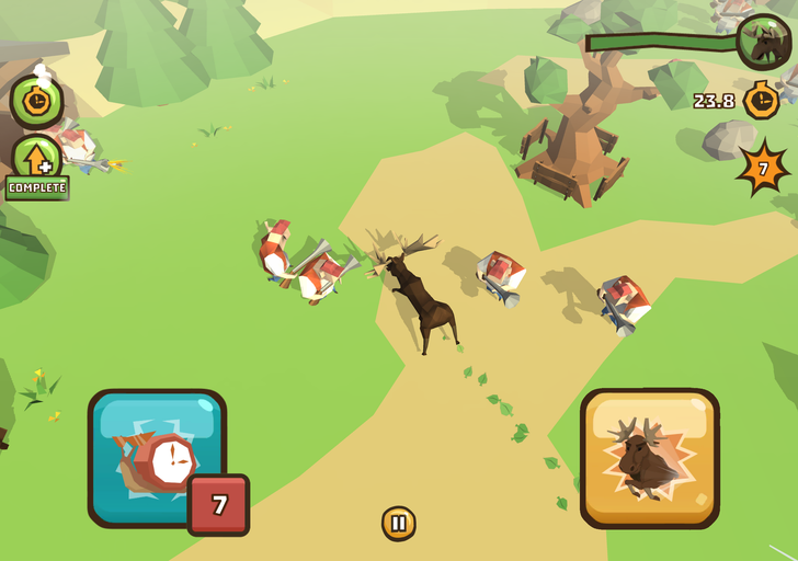 Low-Poly Animals Do Battle With Humanity In Crashing Season, Now Available On Android