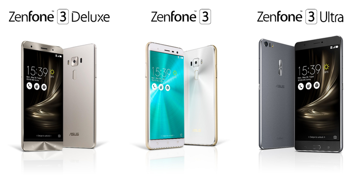 ASUS Announces ZenFone 3, Includes Three Models With Lots Of RAM And Giant Screens