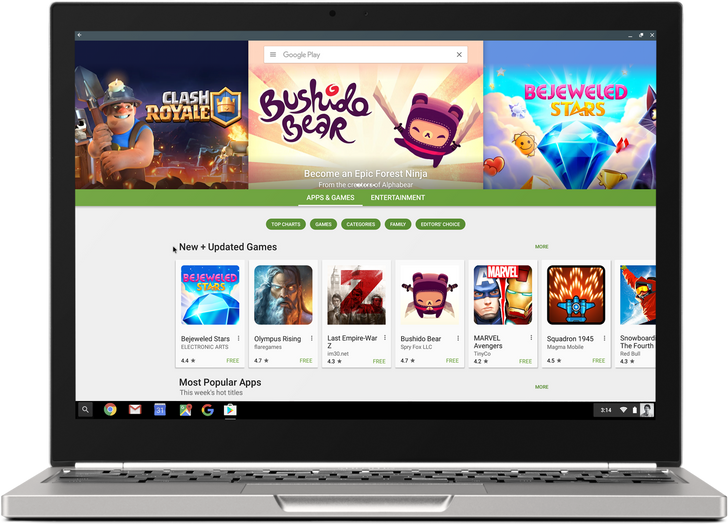 Google Confirms That The Play Store And Over A Million Android Apps Are Coming To Chrome OS Later This Year