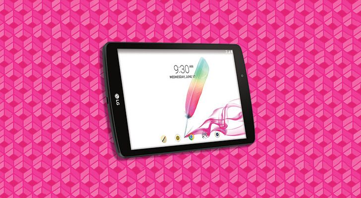 T-Mobile Is Offering A Free LG G Pad F 8.0 Tablet With New Data Lines This Weekend Only