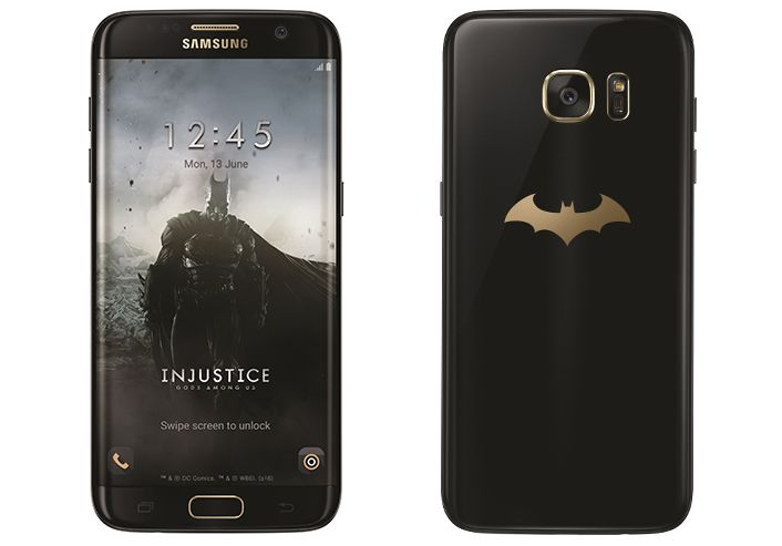 Samsung Announces Batman-Themed Galaxy S7 Edge Injustice Edition To Commemorate Third Anniversary Of Injustice: Gods Among Us Mobile Game