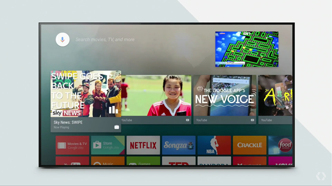 Android TV Will Support Picture-In-Picture, Live Recording, HDR, And New Apps - Google Cast Functionality Will Be Included In More Televisions