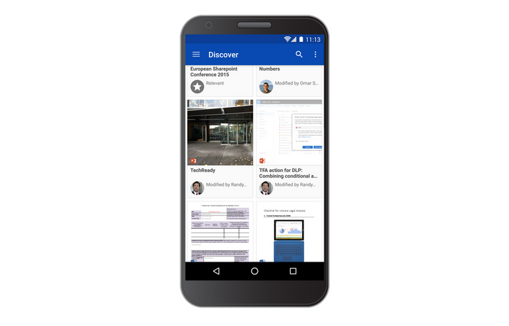 OneDrive Android App Gets 'Discover' View With Contextual Content