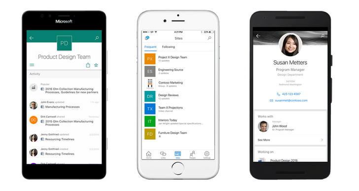 Microsoft Announces SharePoint Mobile Apps, Android Version Coming Later This year