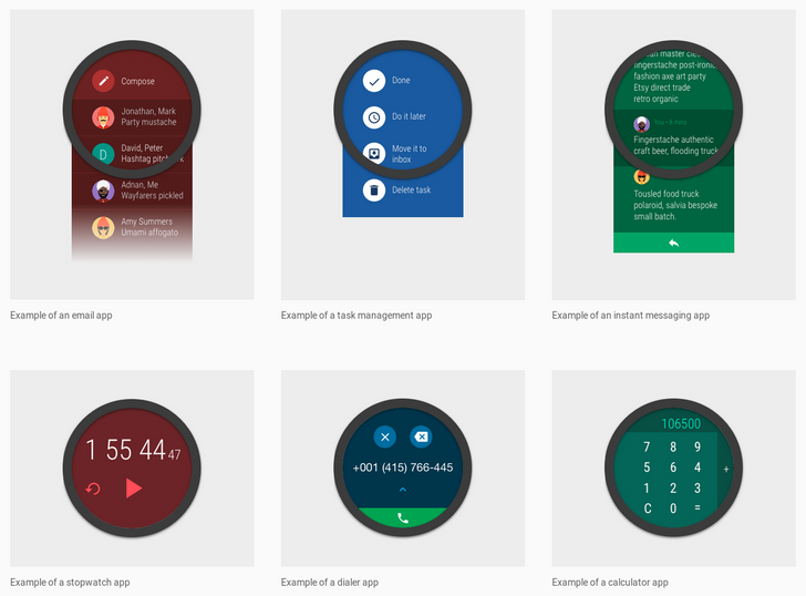 Google Releases Material Design Guidelines for Creating Modern Android Wear Apps