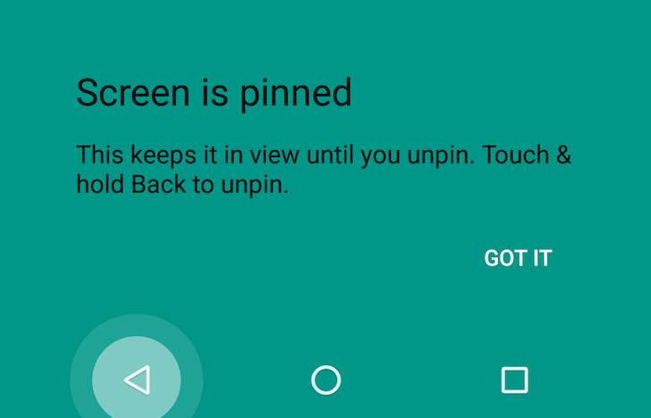 Android N Preview 3 Changes The Screen Unpinning Shortcut, No Longer Throws You Back To Recents Overview