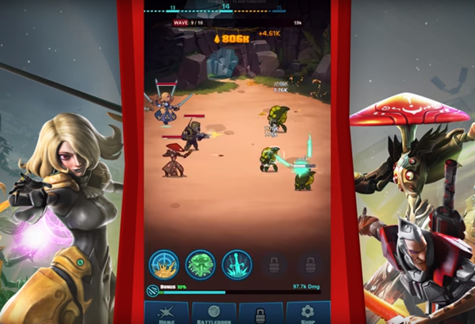 2K's New Shooter Battleborn Comes To Android As A