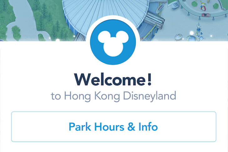 Disney Releases Official Apps For The Shanghai And Hong Kong Disneyland Resorts