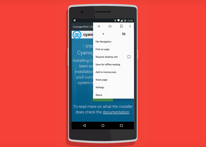 Gello, CyanogenMod's Custom Chromium-Based Browser, Is Rolling Out To Some CM Builds Now
