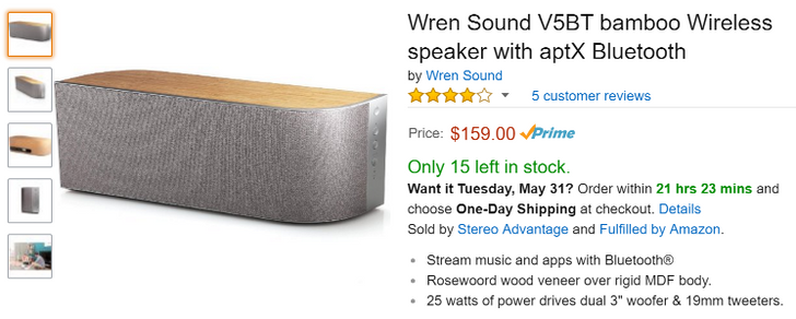 [Deal Alert] Wren's V5 Speakers Are On Sale For As Low As $159