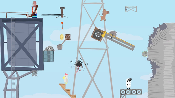 Multiplayer Building Platformer 'Ultimate Chicken Horse' Comes To The SHIELD TV And SHIELD Tablet For $10