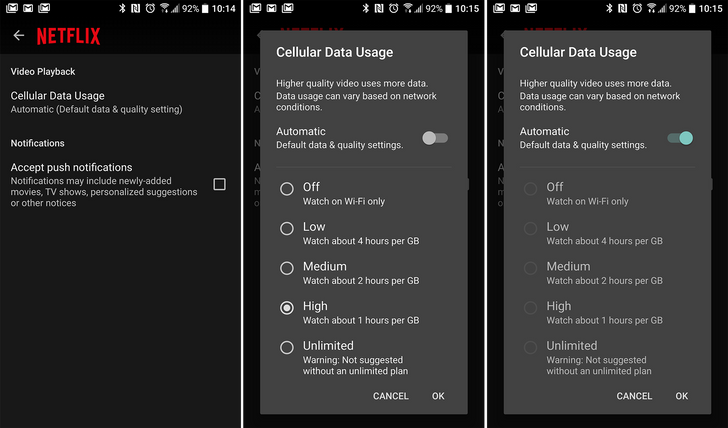 Netflix Rolls Mobile Data Saver Out Globally Right On Time
